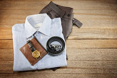 Apparel business man Stock Photos