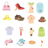 Apparel Sale Tags Stock Photography