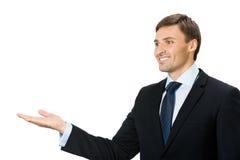 Apparence d'homme d'affaires, sur le blanc images libres de droits