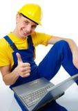 Apparence d'ouvrier Image libre de droits