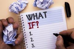 Apparence de signe des textes ce qui si question Photo conceptuelle quelle question moyenne demandent fréquemment l'aide résolvan Photo stock