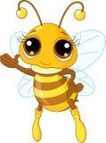 Apparence mignonne d'abeille Photo stock