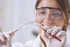 Apparence scientifique par morceau de graphene. photo stock