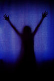 Apparition Silhouette Royalty Free Stock Photos