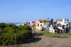 Appartamenti al litorale atlantico in Argentina Fotografie Stock