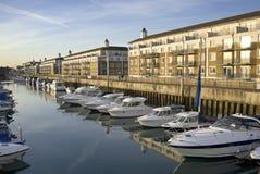 Appartamenti & yacht di lusso Immagini Stock Libere da Diritti