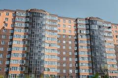 Appartamenti da vendere, nuova casa, alloggio di lusso Fotografia Stock Libera da Diritti