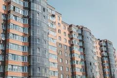 Appartamenti da vendere, nuova casa, alloggio di lusso Immagine Stock