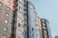 Appartamenti da vendere, nuova casa, alloggio di lusso Fotografia Stock
