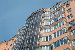 Appartamenti da vendere, nuova casa, alloggio di lusso Fotografie Stock
