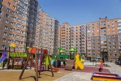 Appartamenti da vendere, nuova casa, alloggio di lusso Immagini Stock