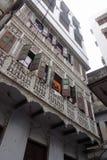 Appartamenti decorativi del balcone Immagini Stock Libere da Diritti