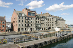 Appartamenti del Oceanfront Immagine Stock