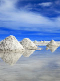 Appartamenti del sale, Uyuni, Boliva immagini stock