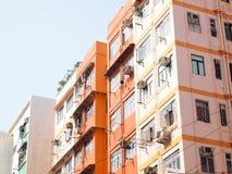 Appartamenti dell'alloggiamento di Hong Kong Immagini Stock