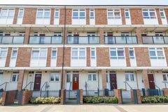 Appartamenti dell'edilizia economica e popolare a Londra orientale Immagine Stock Libera da Diritti