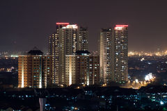Appartamenti della sosta dell'acero Fotografia Stock Libera da Diritti