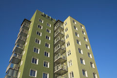Appartamenti di anni '50 Immagine Stock