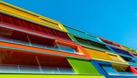 Appartamenti di colore fotografia stock libera da diritti