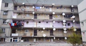 Appartamenti di Costantinopoli Fotografia Stock