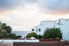 Appartamenti di festa accanto al mare Fotografia Stock