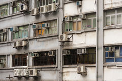 Appartamenti di Hong Kong fotografie stock