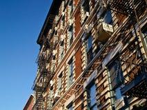 Appartamenti di Manhatten Immagine Stock