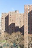 Appartamenti ed ombre di Manhattan fotografie stock