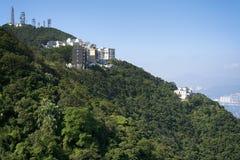 Appartamenti esecutivi, Hong Kong Fotografia Stock Libera da Diritti