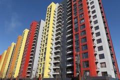 Palazzine di appartamenti moderne immagine stock for Immagini appartamenti moderni