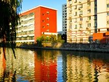 Appartamenti moderni che alloggiano a Shanghai Immagine Stock