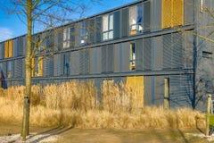 appartamenti moderni dello studente in contenitori rinnovati del mare Fotografia Stock