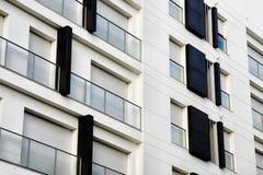 Appartamenti moderni residenziali immagini stock