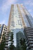 Appartamenti residenziali di alto aumento. Fotografia Stock