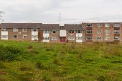 Appartamenti sociali dell'alloggio Fotografia Stock