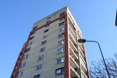 Appartamenti sovietici Fotografia Stock
