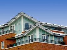 Appartamenti superiori Fotografia Stock