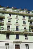 Appartamenti svizzeri Immagine Stock Libera da Diritti