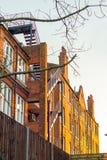 Appartamenti tradizionali di Londra Fotografia Stock