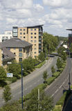 Appartamenti, Woking, Surrey in Inghilterra Fotografia Stock