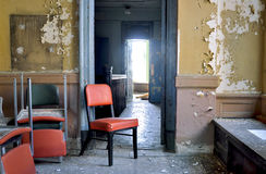 Appartamento abbandonato Fotografia Stock