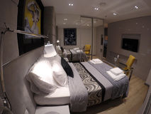 Appartamento accogliente nel centro di Danzica Immagini Stock
