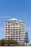 Appartamento dalla spiaggia Immagine Stock Libera da Diritti