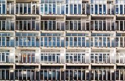 Appartamento della struttura di Windows Immagini Stock Libere da Diritti