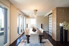 Appartamento di lusso interno Fotografia Stock