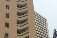 Appartamento a Hong Kong Fotografia Stock