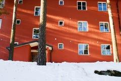 Appartamento in inverno fotografia stock libera da diritti