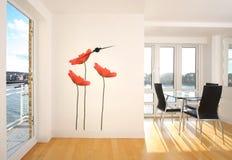 Appartamento moderno Fotografie Stock