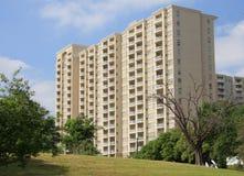 Appartamento moderno della costruzione Immagini Stock