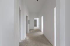 Appartamento in nuova costruzione Fotografia Stock